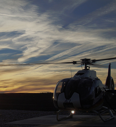 Helicopter flights -