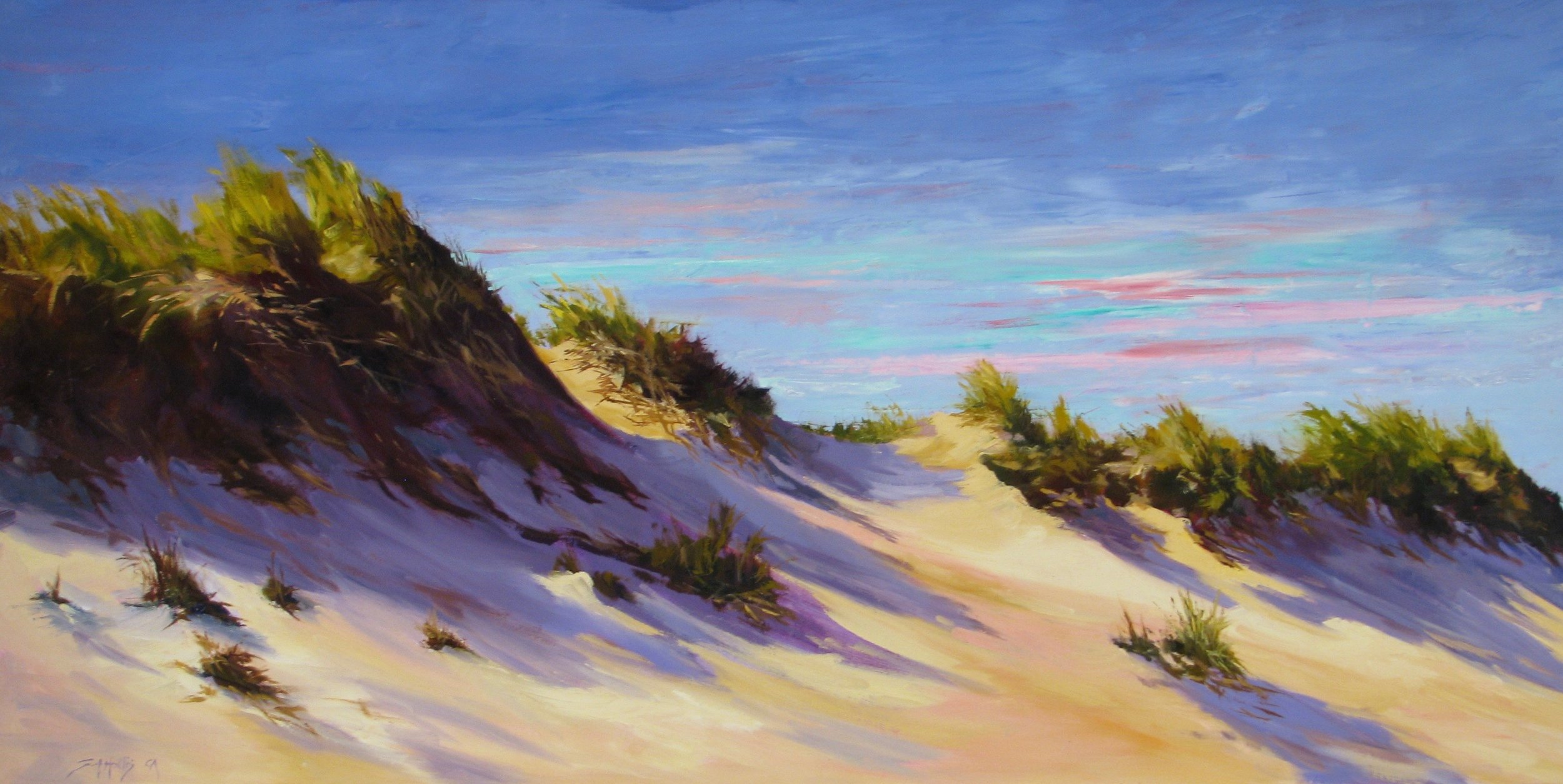 "Along The Dune Ridge – 20"" x 40"""