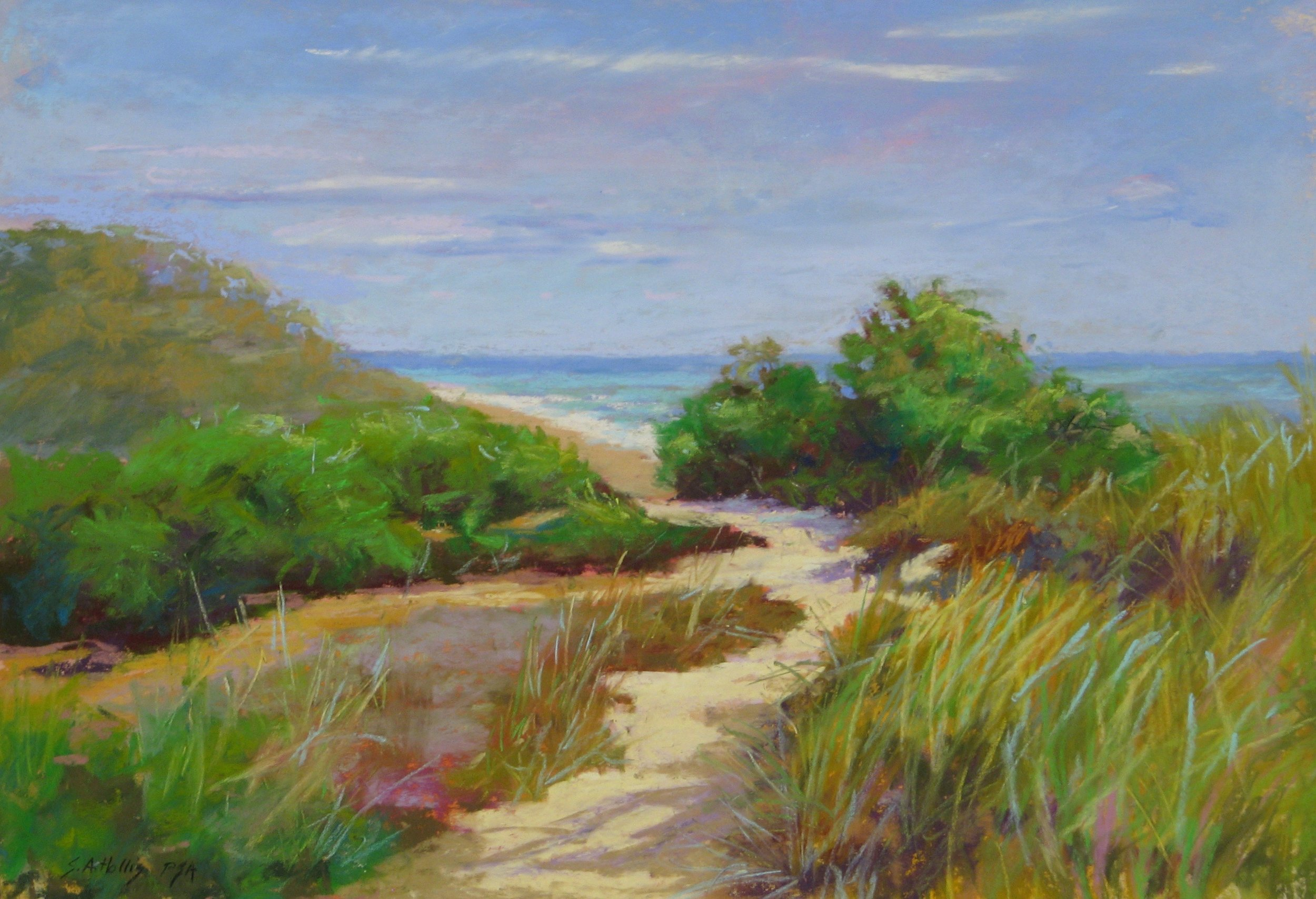 "Above Newcomb Hollow – 11"" x 16"""