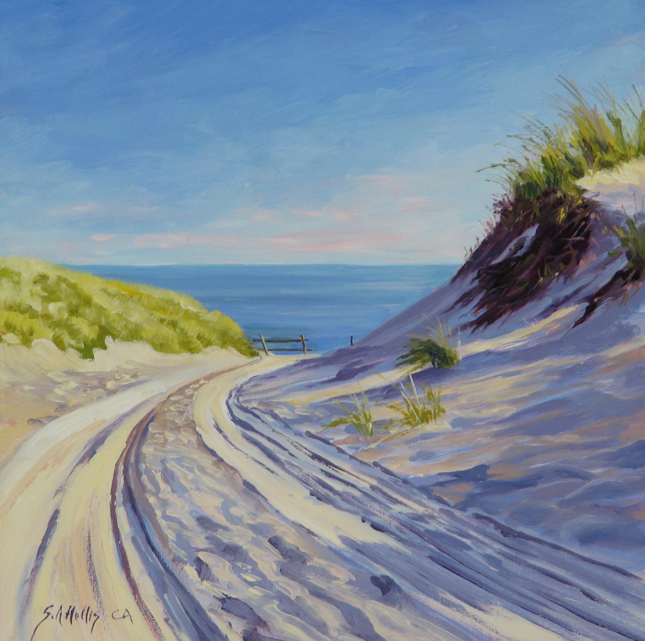"Dune Tracks  – 8"" x 8"""