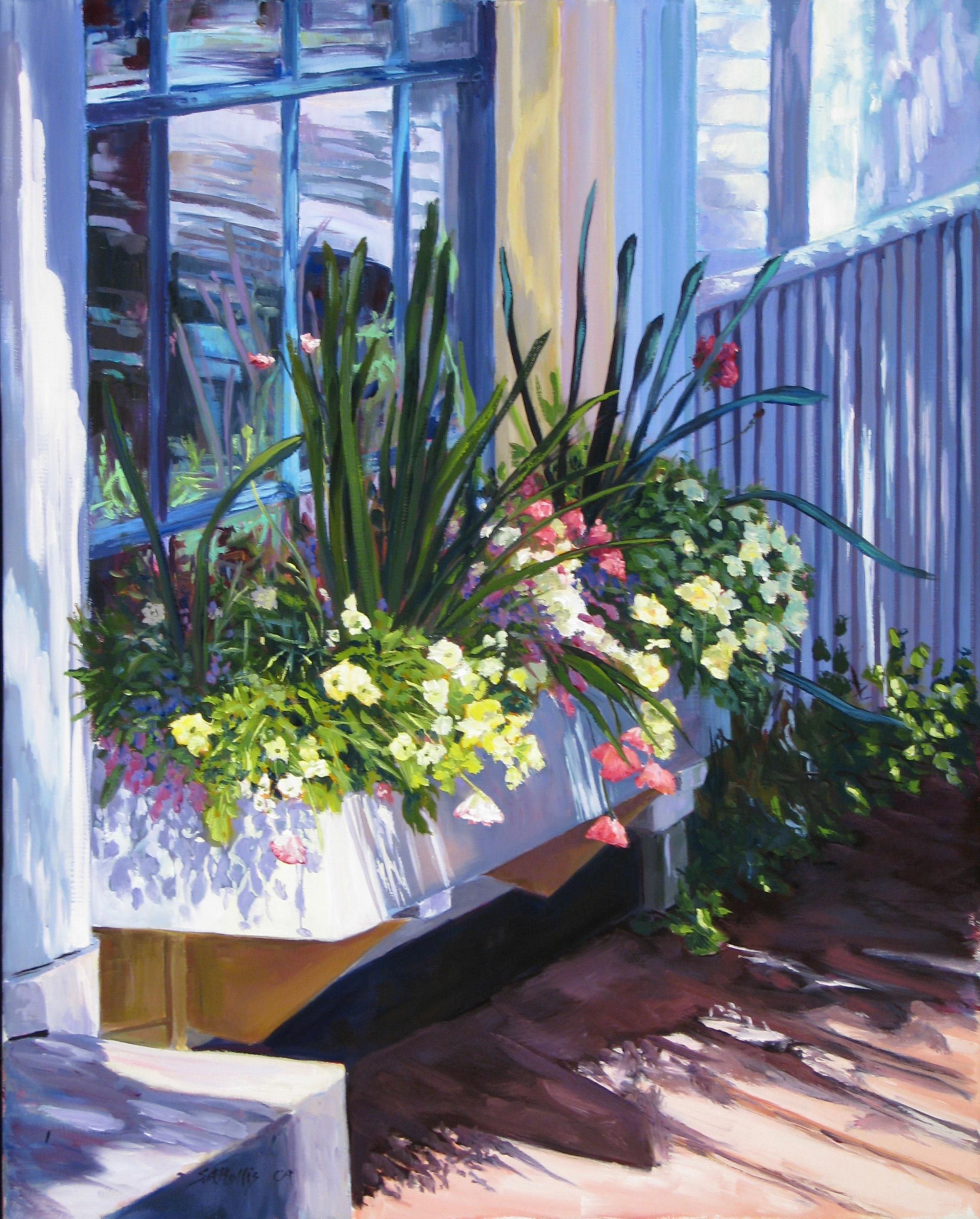 """July in Bloom – 16"""" x 20"""""""