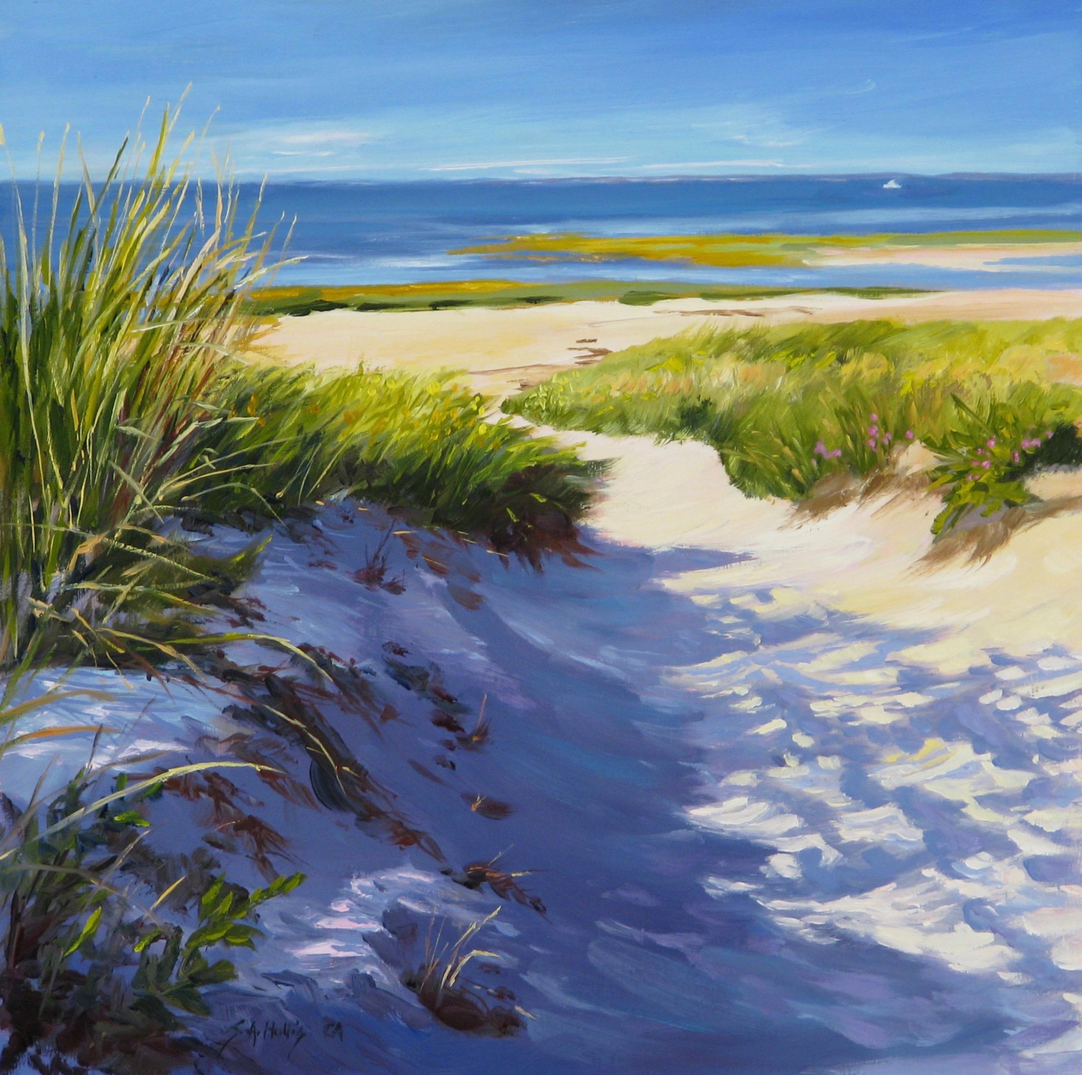"Beach Treasure – 10"" x 10"""