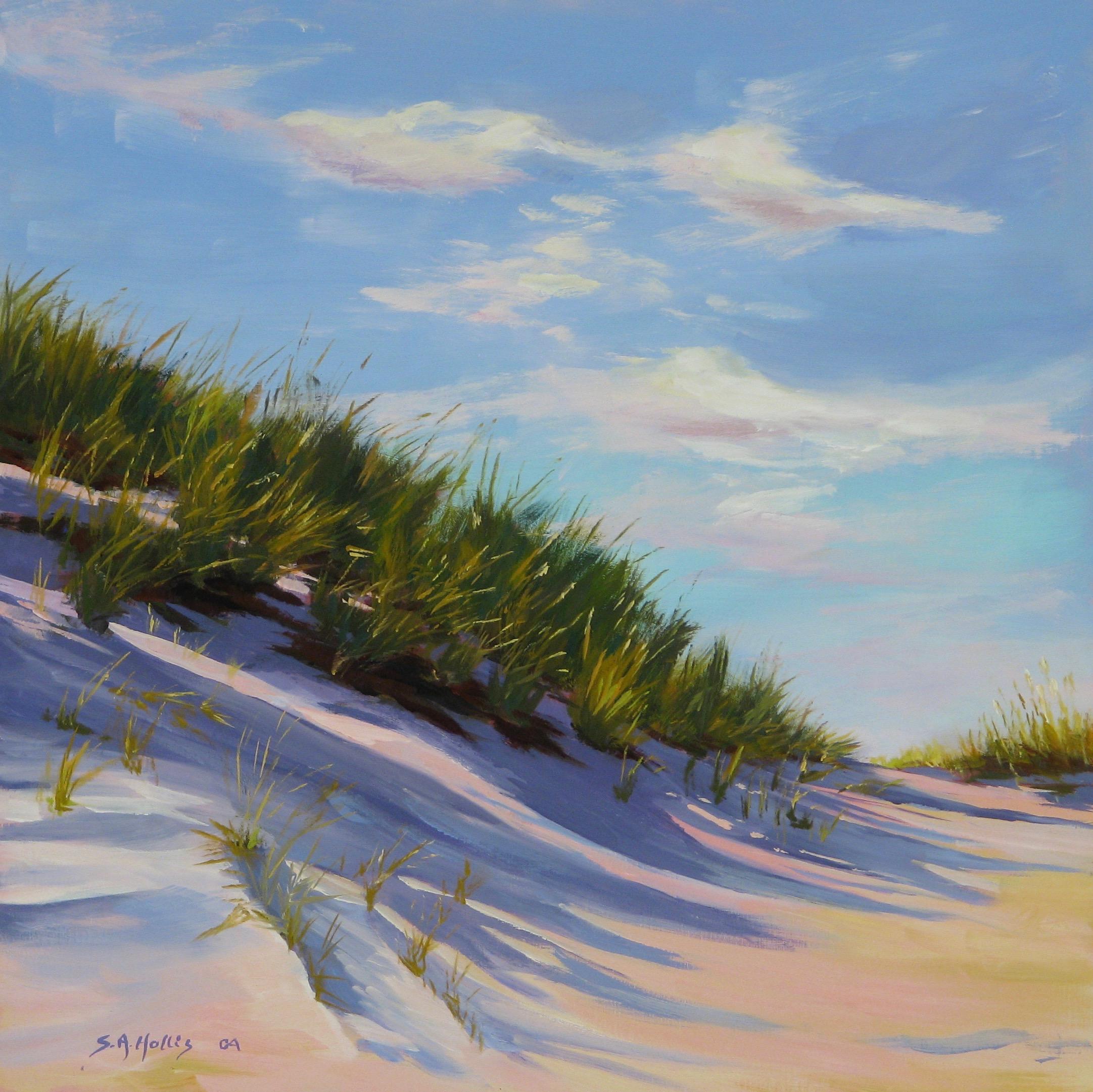 """Sand Swept #4 – 12"""" x 12"""""""