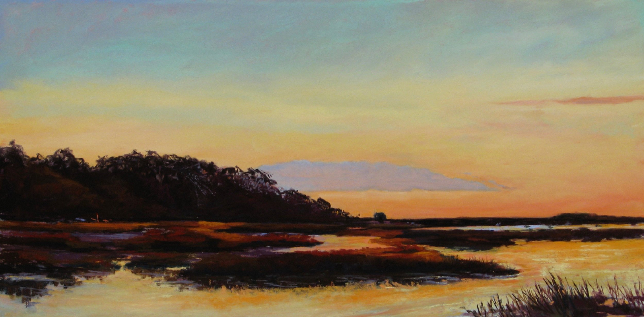 "Lingering Light – 12"" x 24"""