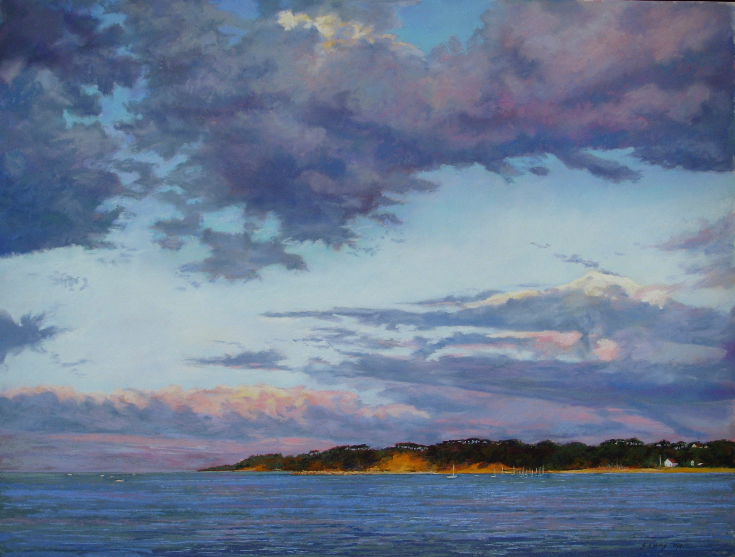 "Across The Bay – 27"" x 36"""