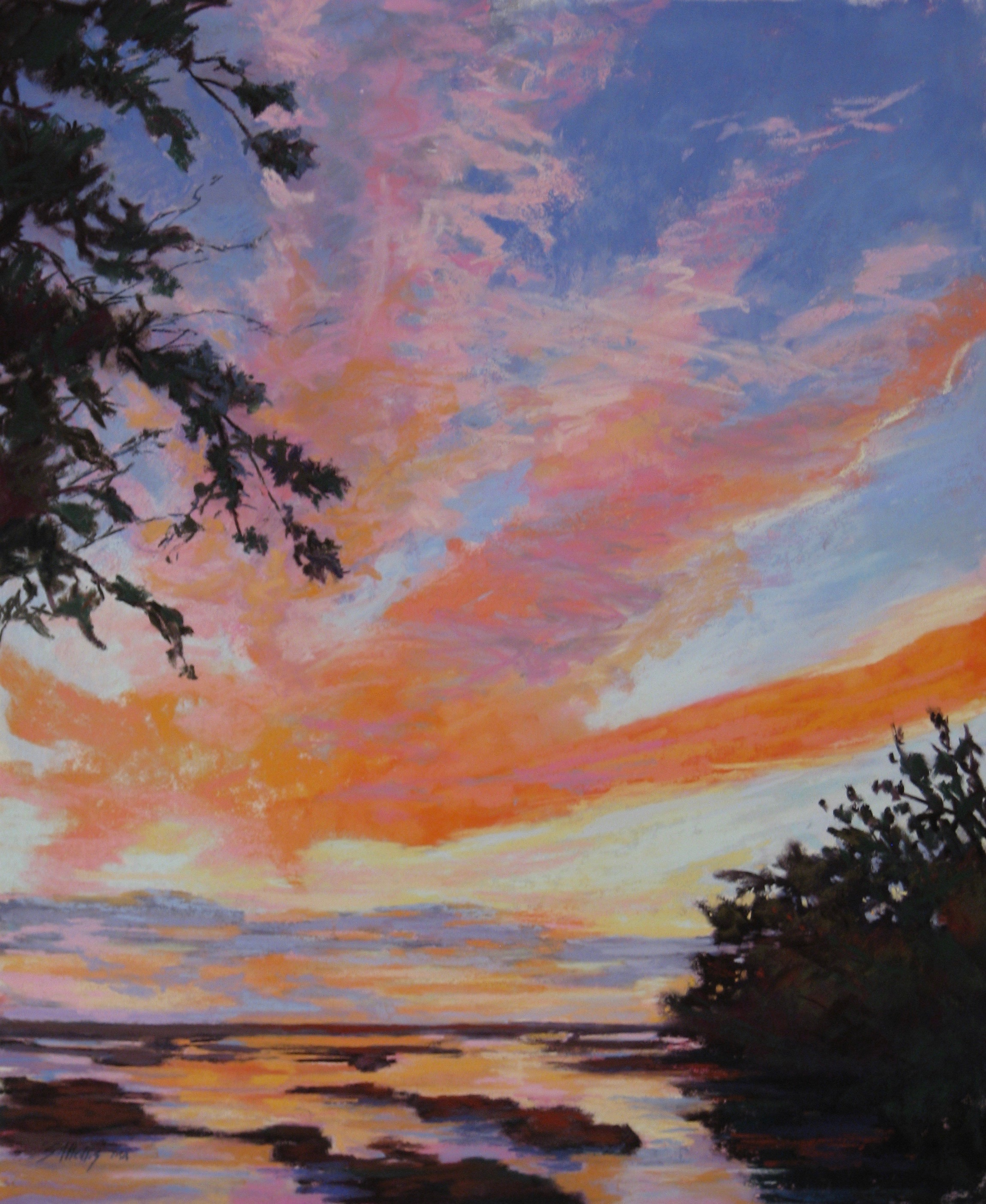 Pastel Society of Cape Cod - For Pastels Only - CAPE COD CULTURAL CENTER, SO. YARMOUTH, MAJULY 29 - AUGUST 11AMAZING GRACE  - 12 X 16 - OASTEK