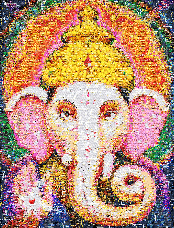 19_forweb_Ganesh---God-of-New-Beginnings,-Success-and-Wisdom,-Remover-of-Obstacles_emoji-art-Natalya-Nova.jpg