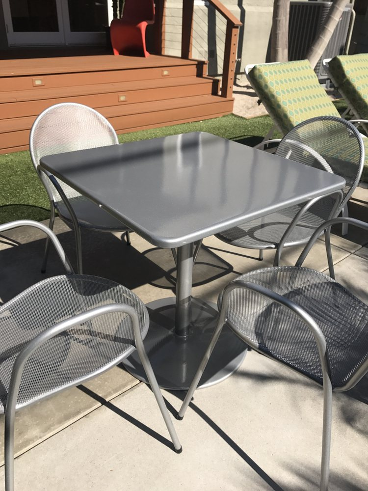 Patio Furniture Bengal Silver
