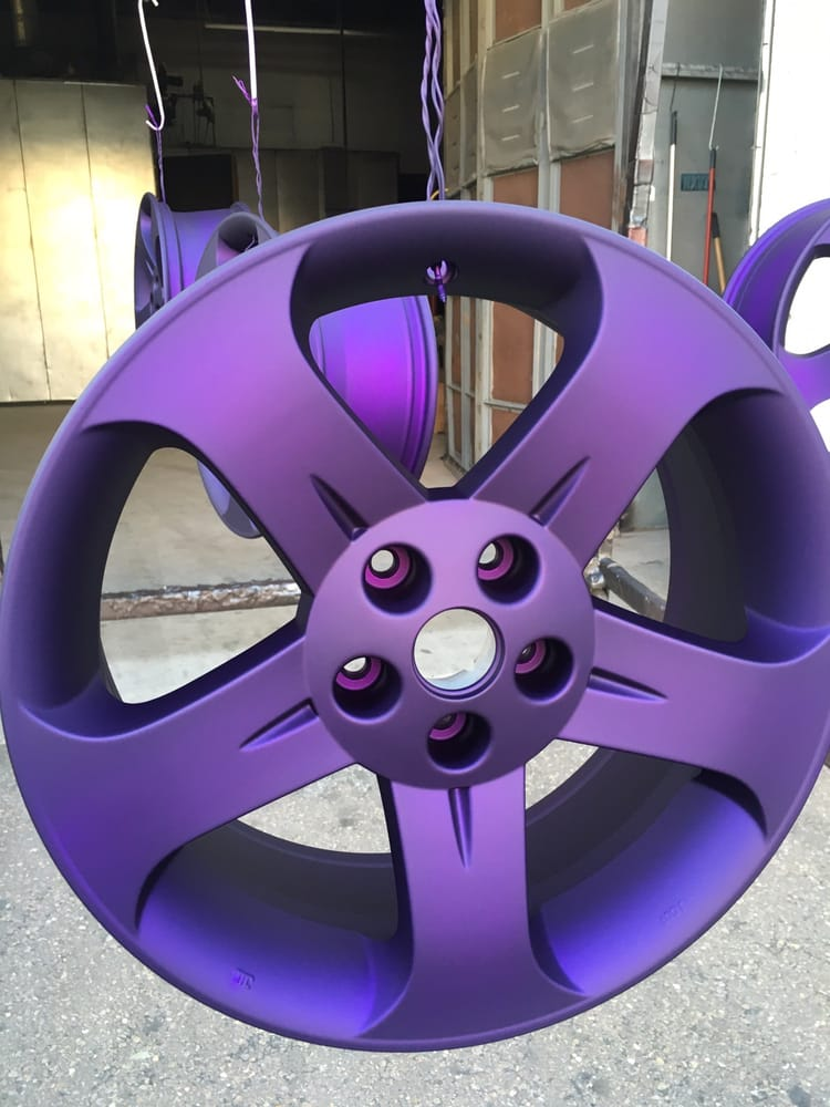 Illusion Purple + Satin Clear Coat