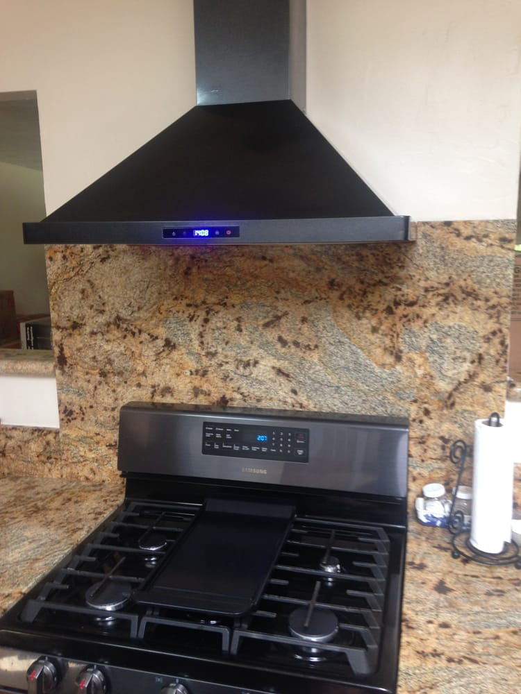 Oven Hood Black Magic