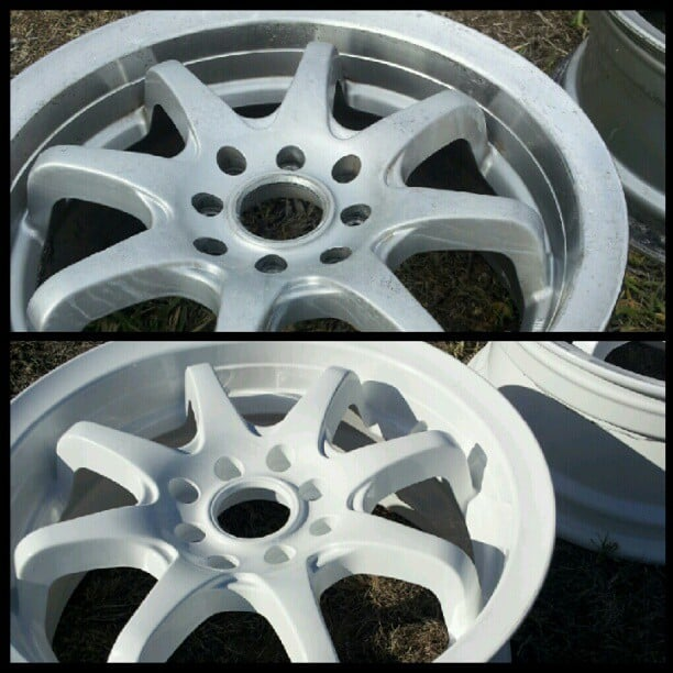 Before and After Sky White