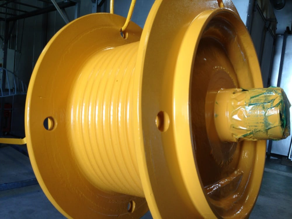 Motor Cylinder Powder Coating
