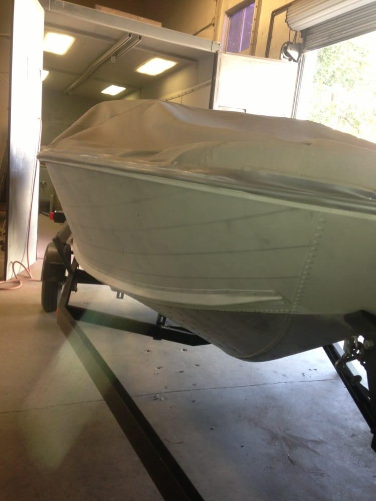 Boat Hull Sandblasting