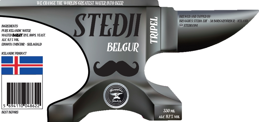 Belgur Tripel - Belgur is our Belgium tripel specially brewed for the 30 year anniversary of the beer here in Iceland. The beer was brewed last summer and has had the proper method for perfecting the taste. The style is our vision on Belgium tripel it's powerful and dangerous beer 9.2% our brew master masked the alcohol very well as the beer is a very smooth drinker.