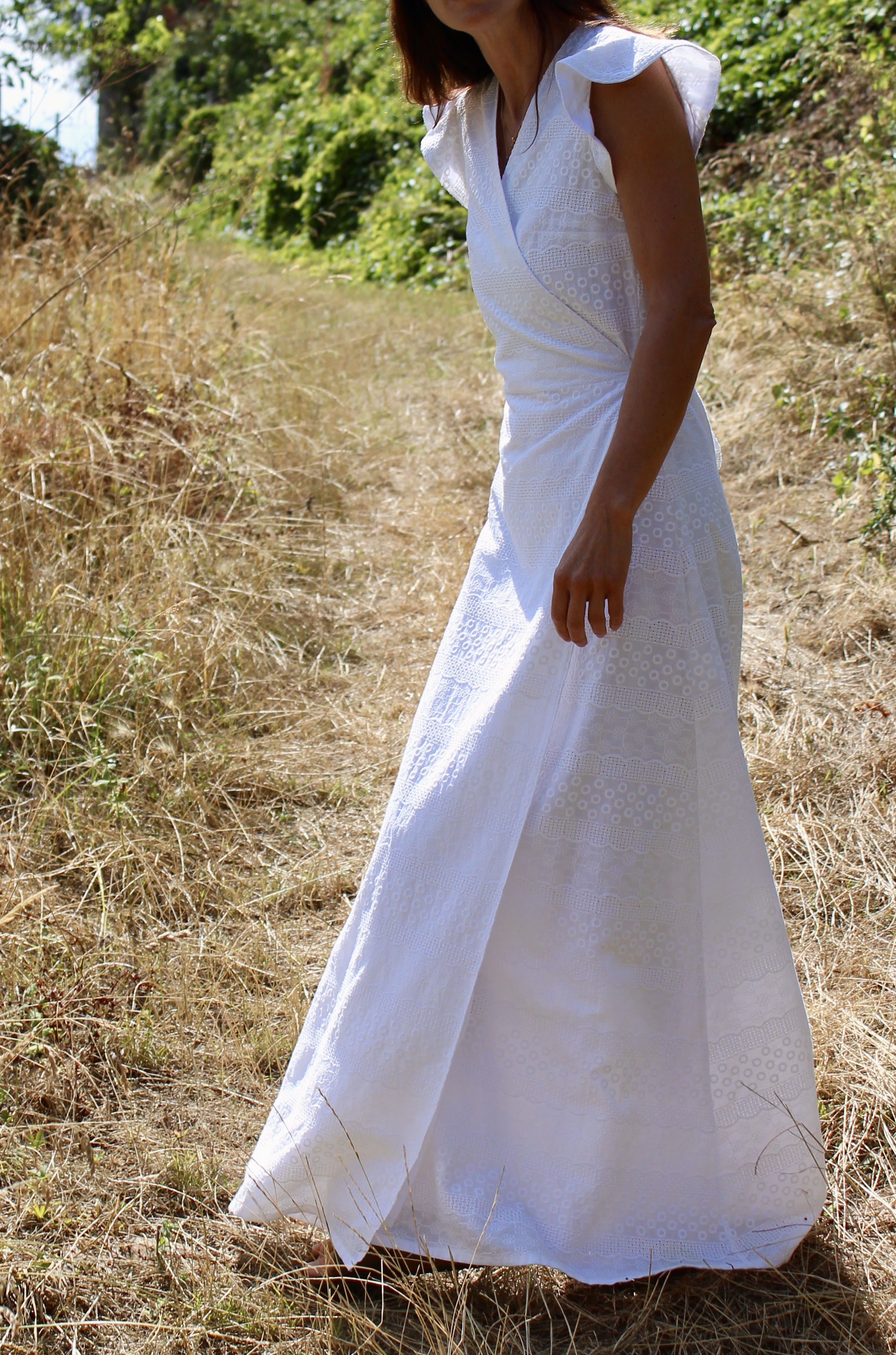Robe Aline - broderie anglaise