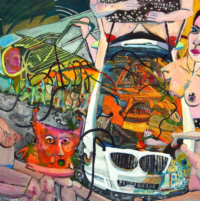 2016, Oil on canvas