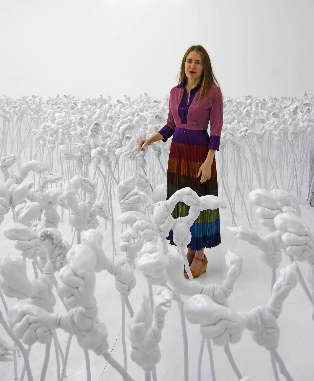 Portrait of Patricia Piccinini, Internatural at Hosfelt Gallery, San Francisco USA, 2018