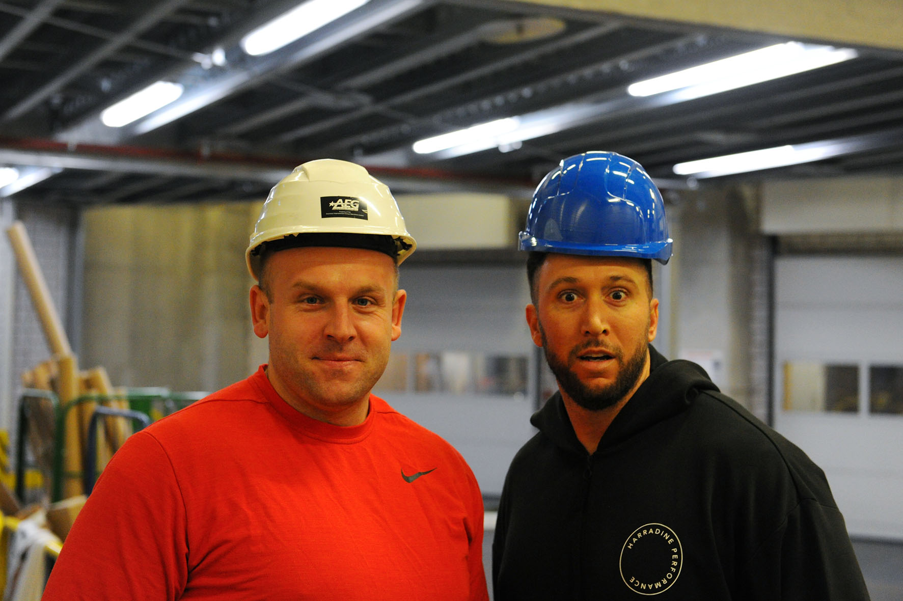 Piotr Malachowski & Benn Harradine