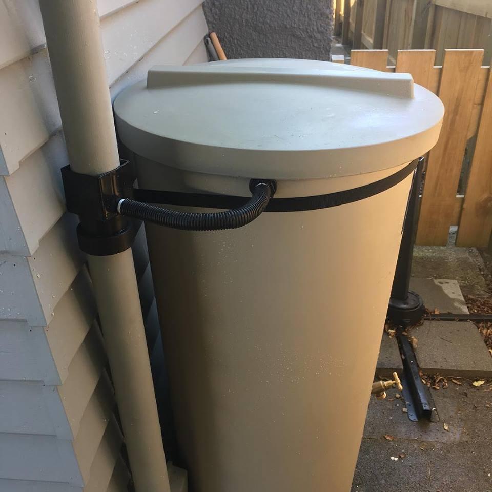 Installed 200L rain butt.jpg