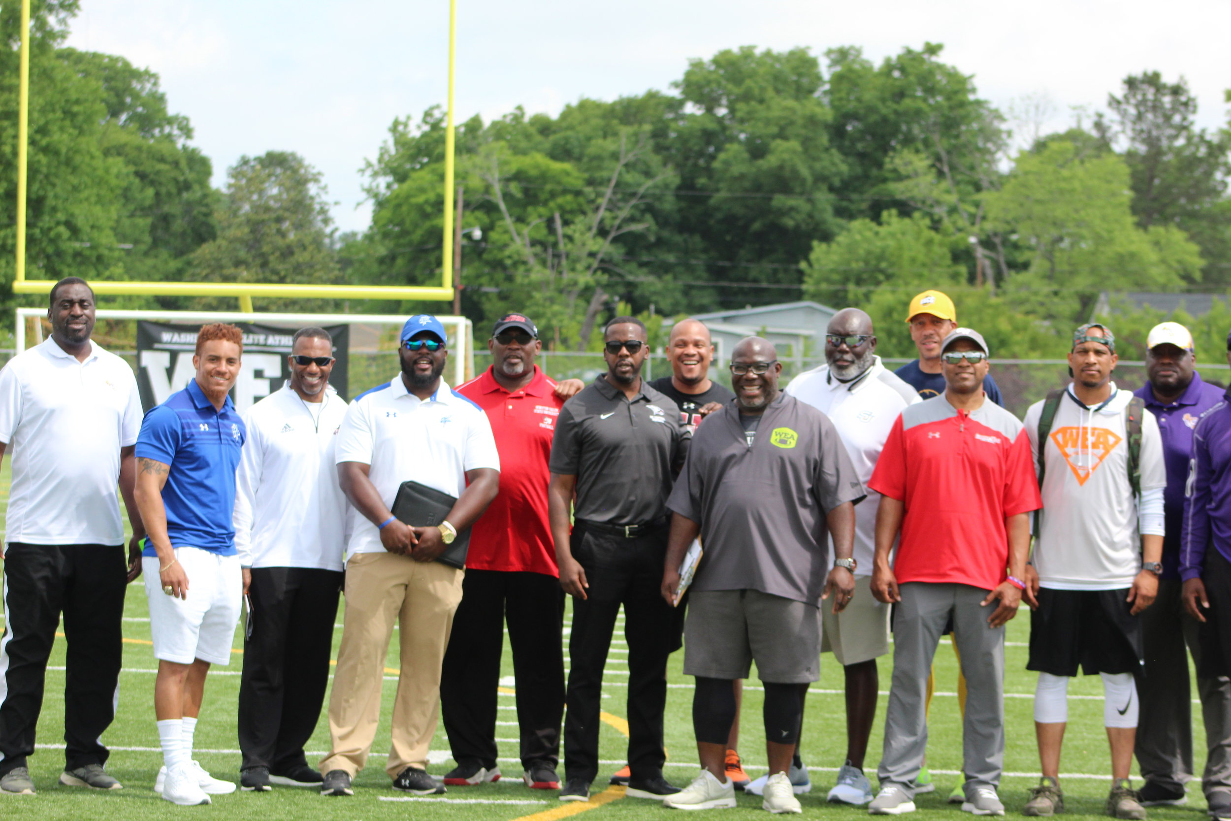 College Coaches At WEA Exposure Camp