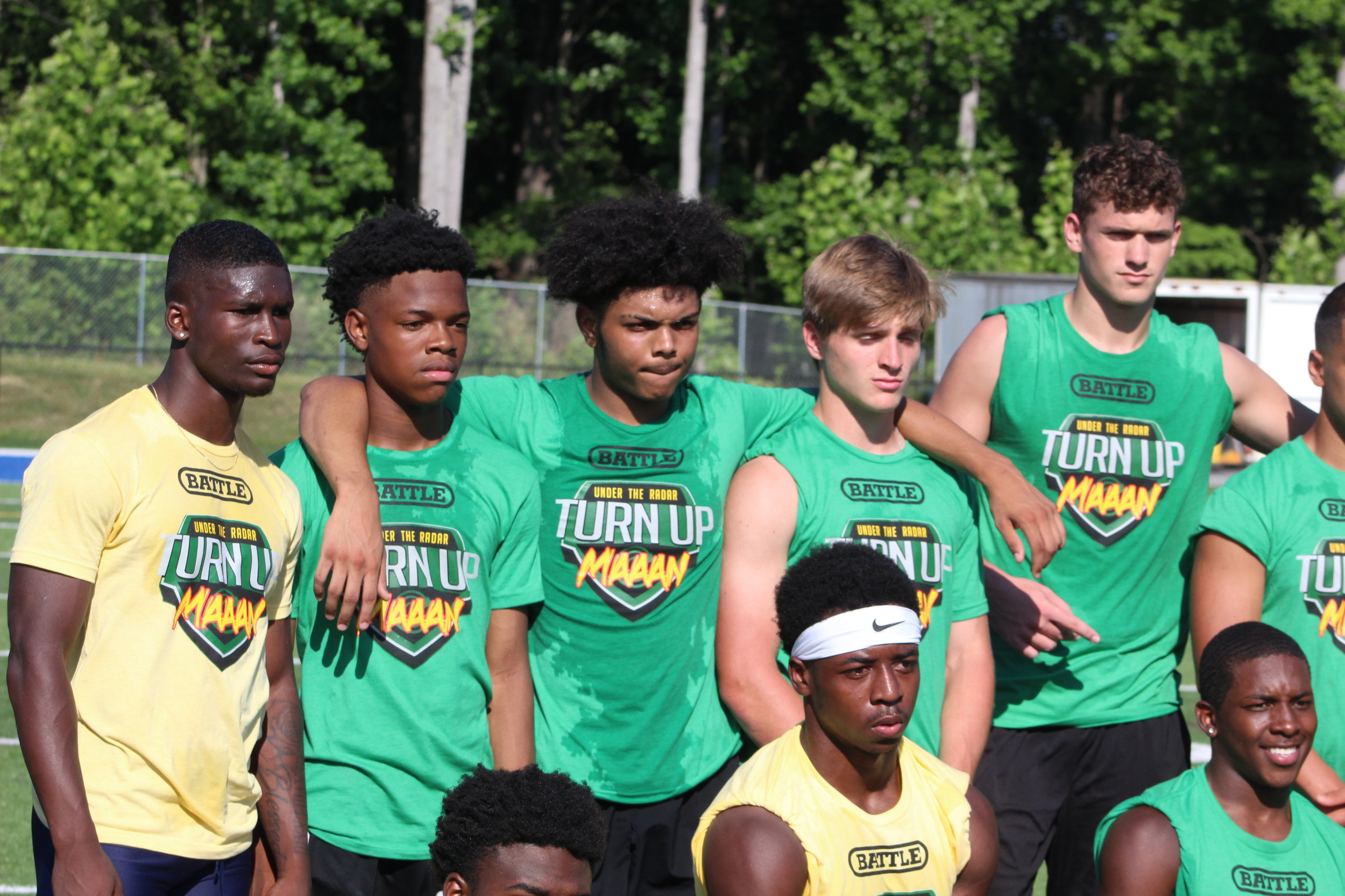 Some UTR Camp MVP's Pictured Here As Camp Concludes