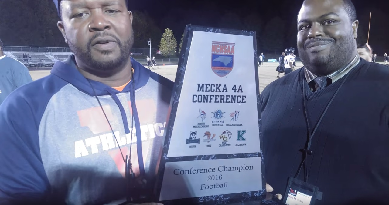 Aaron Brand and the Vance Cougars Winning the 2016 Conference Championship
