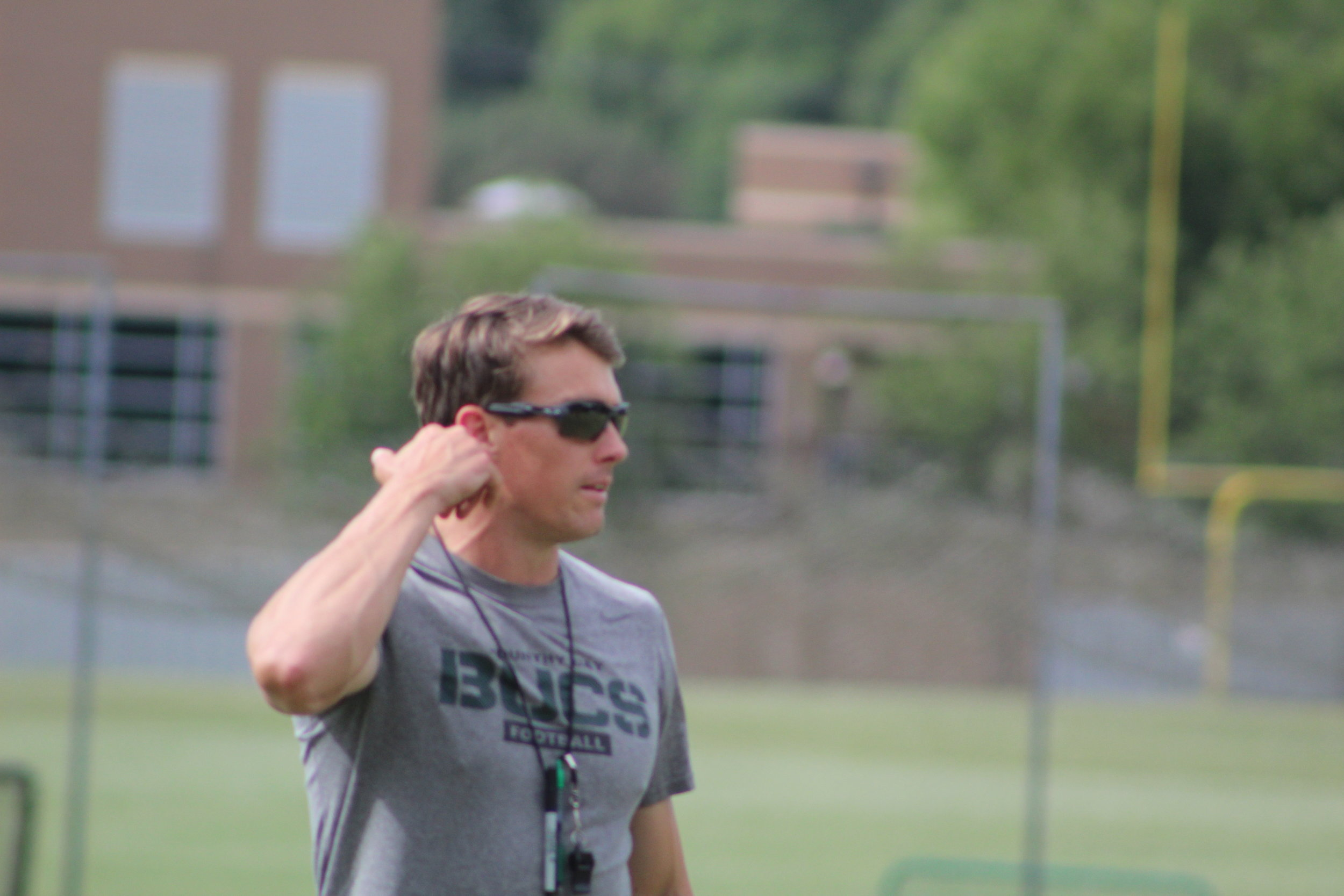 Charlotte Country Day Head Coach Drew Witman