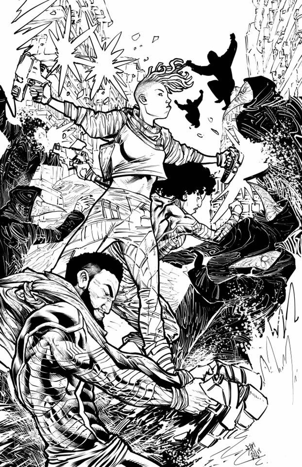 Mines to Avenge issue 1 Alt. cover