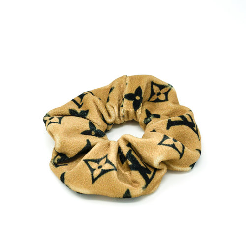 Designer Scrunchies Luxe Scrunchies GG Scrunchies Designer Hair Ties Authentic Materials Used Bunny Ear Bow