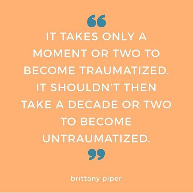 """We can no longer stay silent about our trauma. We no longer live in a world where we have the privilege to remain silent about things that matter most, simply because we're offended. Because there's trauma on all sides, and whether or not you think the worlds trauma affects you...it does. . There's white trauma, black trauma and brown trauma. There's neo-nazi trauma. There's All Lives Matter trauma. There's Black Lives Matter trauma. There's Blue Lives Matter trauma. There's Muslim trauma. There's Jewish trauma. There's Christian trauma. There's atheist trauma. There's science trauma. And the list goes on... . What we don't realize is that trauma is an equalizer. Just because you're experiencing trauma doesn't make it greater or less than someone else's trauma. Bottom line—the trauma has to be acknowledged, recognized, and SPOKEN, before it can be healed. Which means we all gotta pause and say... . """"You're hurting too?"""" This is how we stop promoting the cycles of suffering. This is how we can live in a world where emotional trauma isn't repeated, and where we can disagree without it ending in violence."""