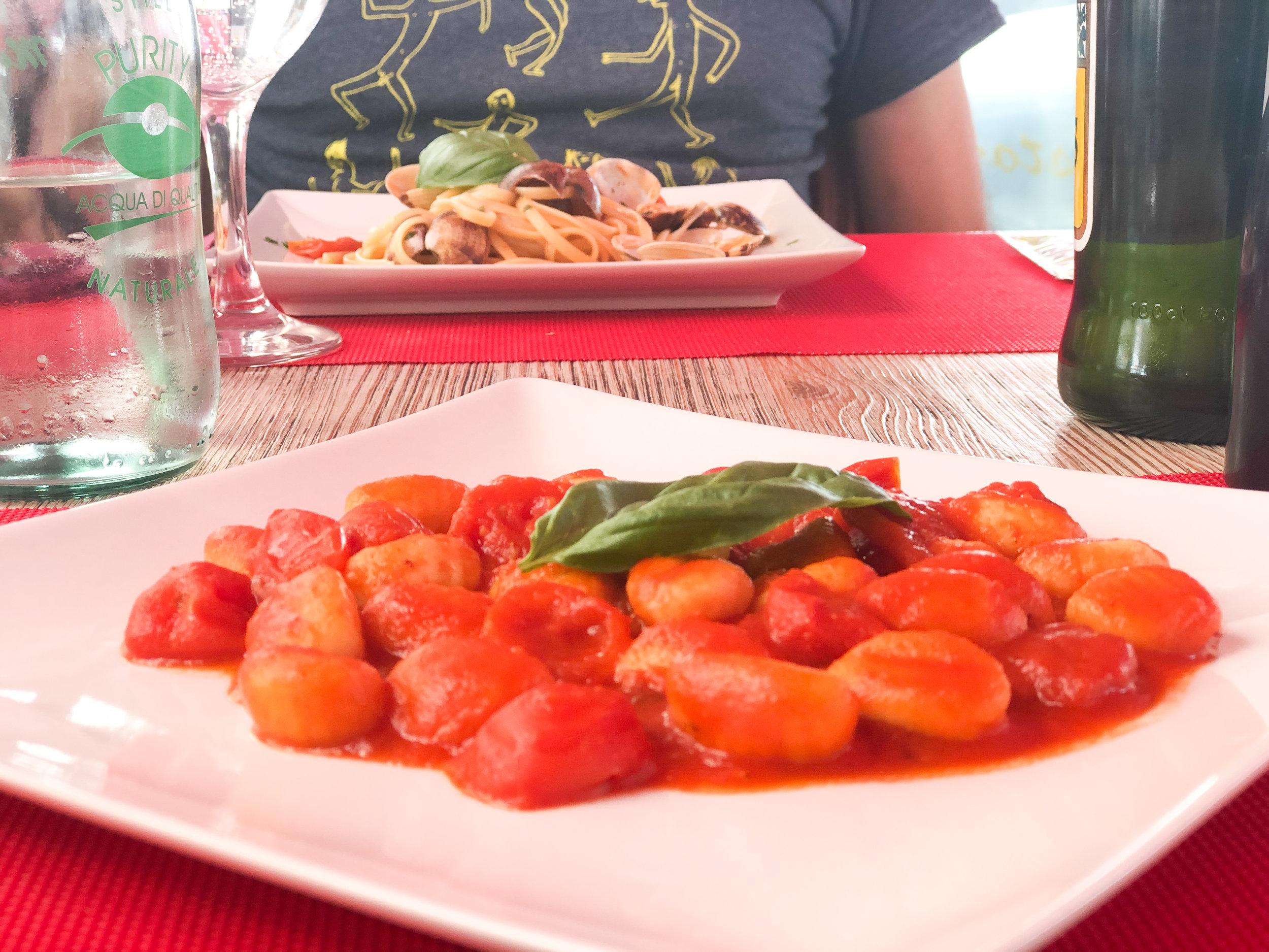 Mama Napoli Gnocci | Vegan + Vegetarian Florence Italy | Firenze Italy