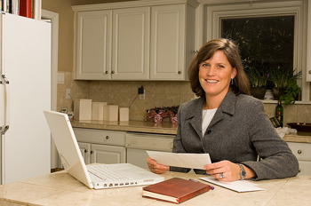 The convenience and economy of a home-based business.