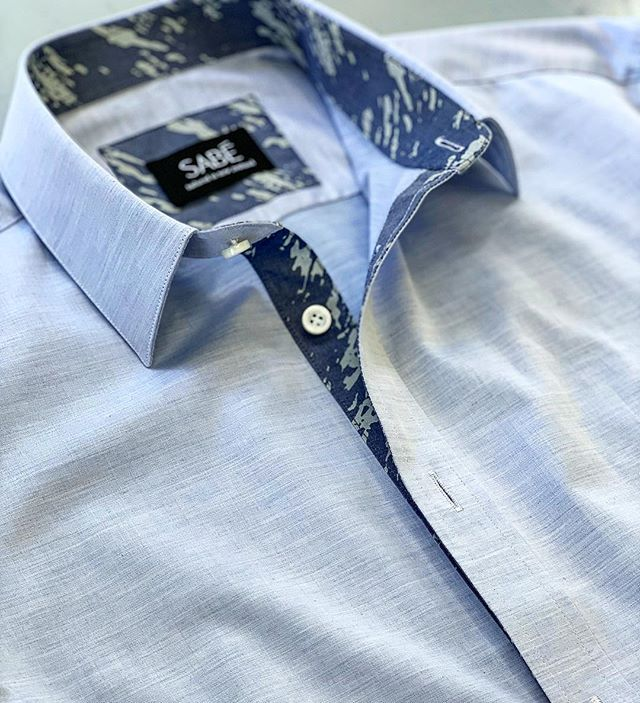 #Linen #shirt #summer#camicie By SABE`@vinnythetailor #tailoring #fabric #Artistry #customshirt #bespoke #sartoria #auckland #nz