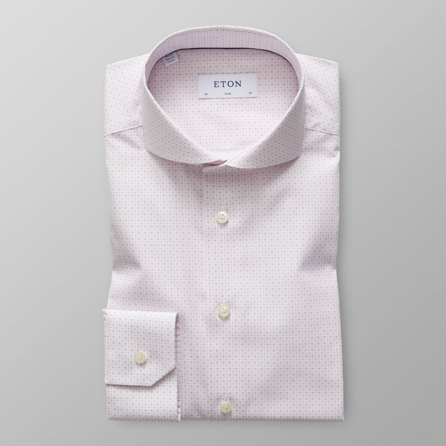 Pink Micro Print Shirt