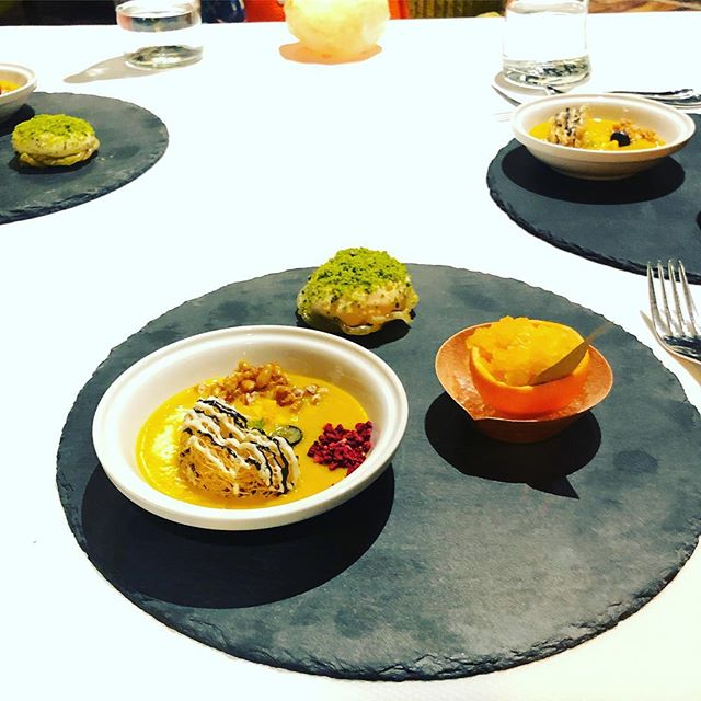 Food Coma. The yummy Indian fusion summer menu at Indian Accent #naudic #travelseries #roundtheglobe #foodtasting