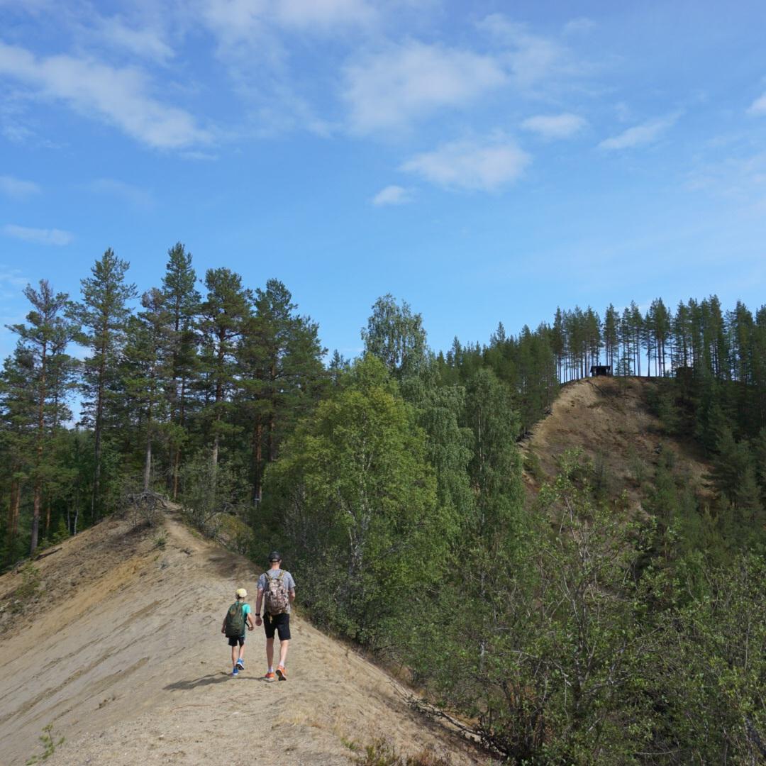 NATUR - VANDRA PÅ HEMLIG DRAKRYGGAtt hitta till Drakryggen är inte helt lätt men värt mödan. Den utgör den största av Lögdeälvens många nipor och bjuder på en spännande vandring längs med ryggåsen ned till älven. Här finns vindskydd och eldstad. Färdbeskrivning från Umeå: Från Umeå, passera Bjurholm och Balfors på väg 92. Efter Angsjöns camping fortsätt ett par minuter, sedan dyker en blå liten skylt upp på vänster sida, Drakryggen. Följ skyltningen vidare höger in på en smal skogsväg.Tips inskickat av: Visit Umeå