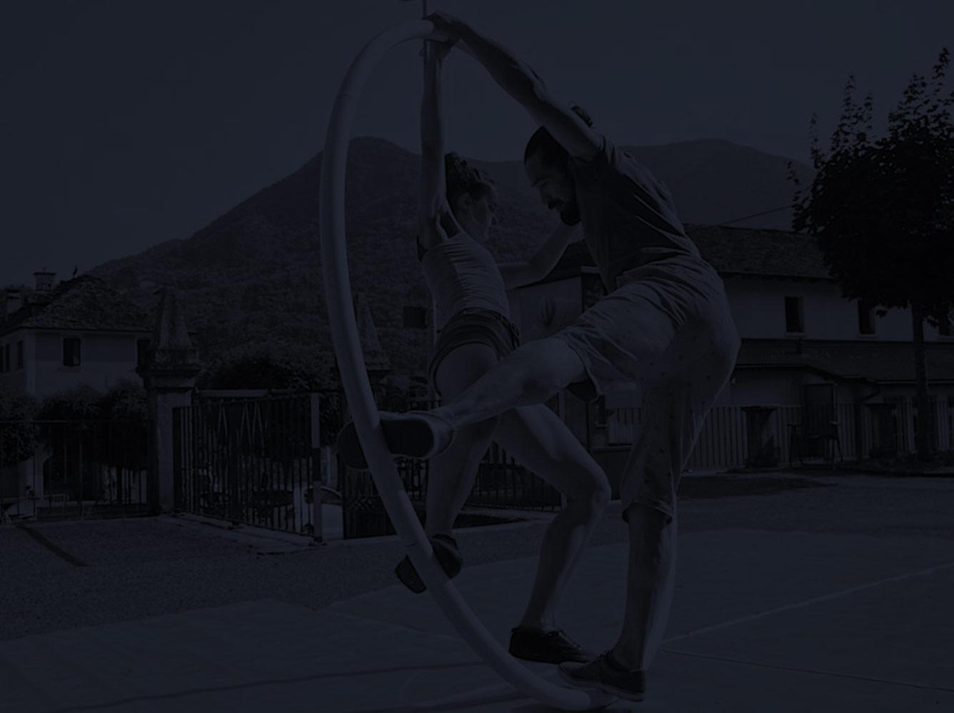 17.Compagnia RadSam - Acrobatic dance with Cyr wheel