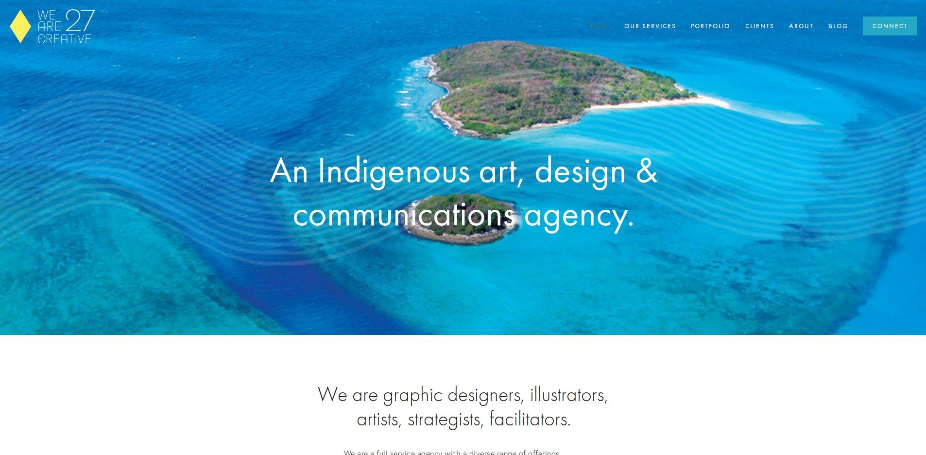 We are 27 Creative - We are graphic designers, illustrators,artists, strategists, facilitators.