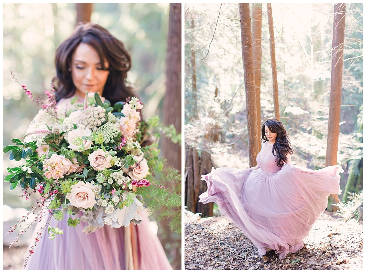 Enchanted Forest Styled Shoot