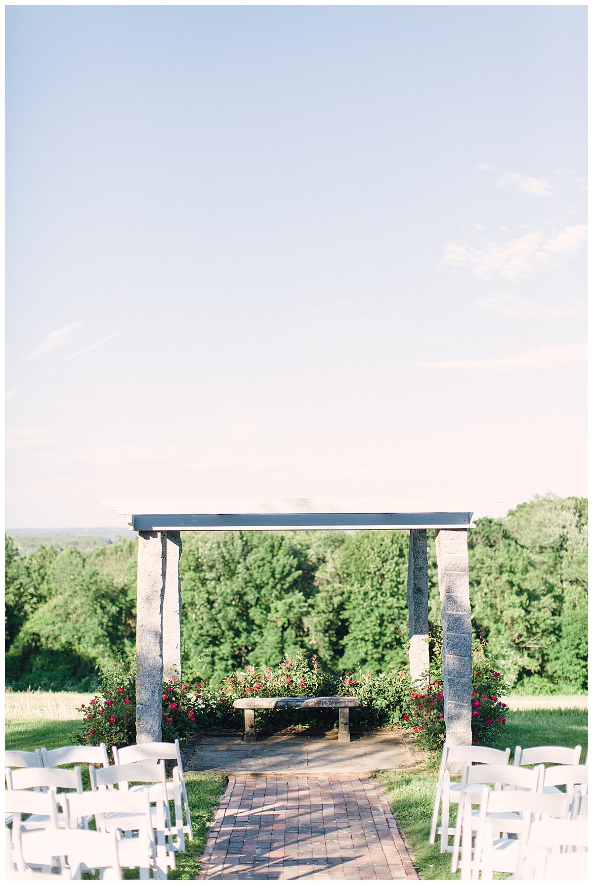 outdoor ceremony tyrone farm