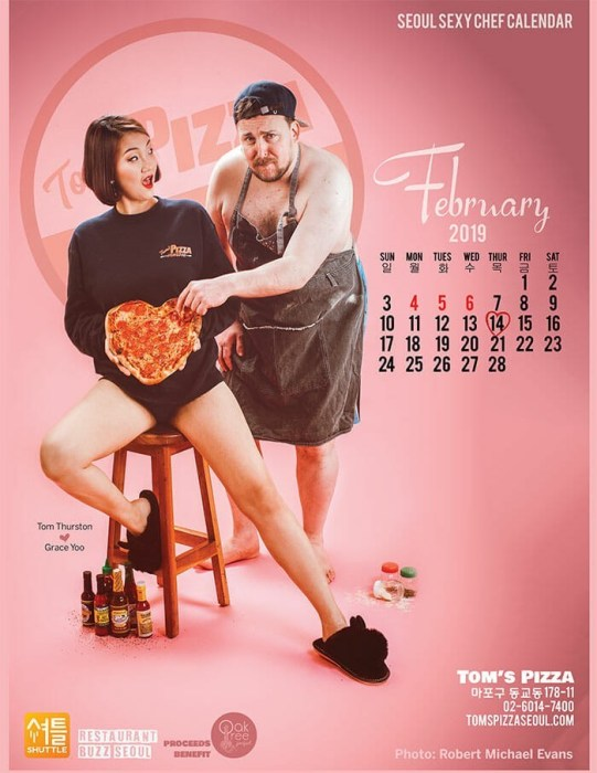Seoul Sexy Chef - '19 February Cover Story
