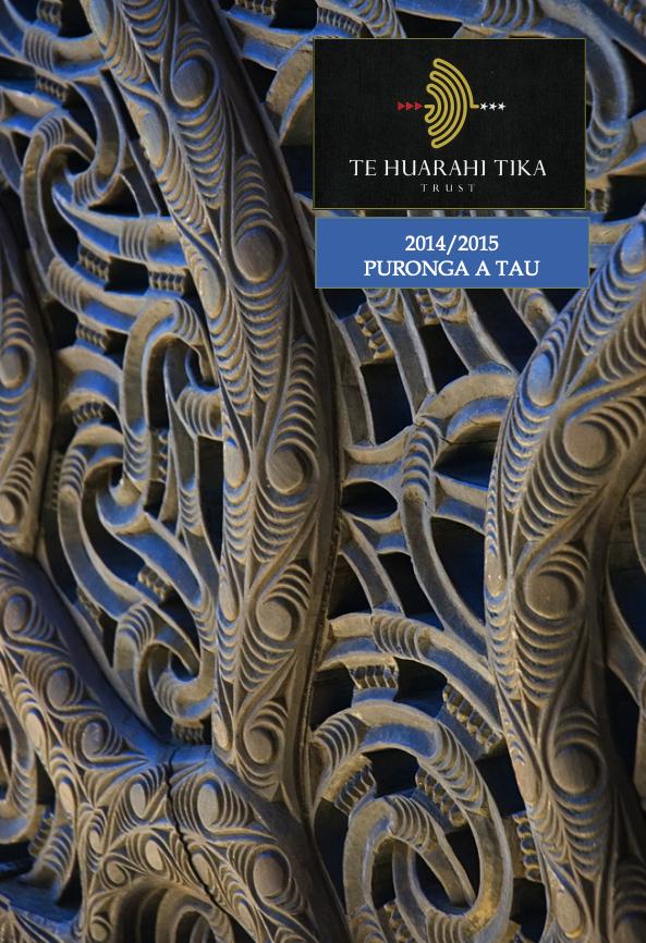 - Purongo a Tau | Annual Report 2014 & 2015