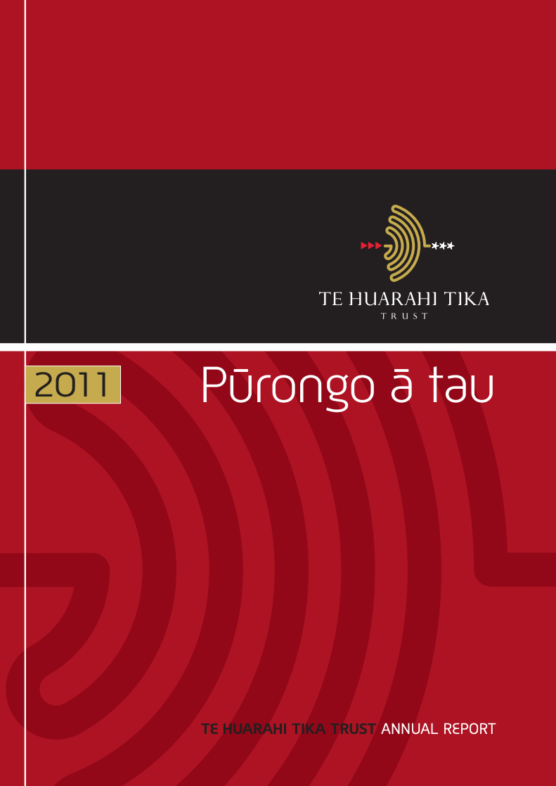 - Purongo a Tau | Annual Report 2011