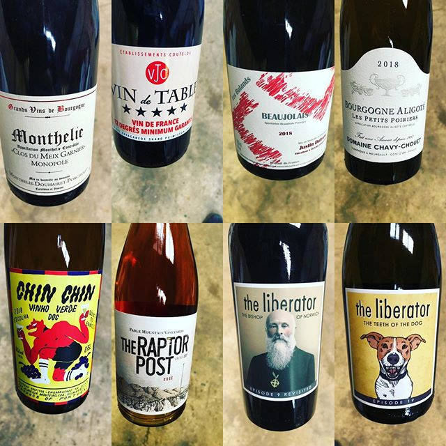 Just a small selection of some excellent new releases which will be launched at our Winter Wine Tasting - got your ticket? #wine #winelover #naturalwine #winetastings #newwine #oxfordshire #localbusiness