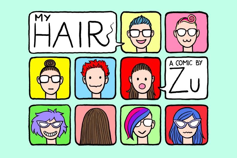 My Hair   by  Zu Dominiak