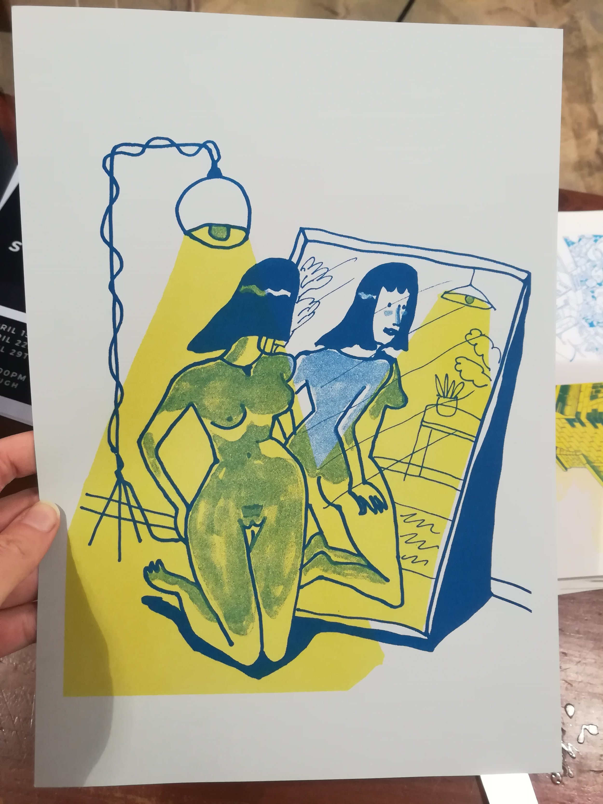 EMILIE WALSH : Emilie is a Melbourne-based artist, currently finishing her PhD at the Victorian College of the Arts. She works with a range of media, from comics and illustration to video, printmaking and 3D printing. Her illustrations have been published by  The Lifted Brow , and she self-published her first comic book in 2018 with Tree Paper Comics in Melbourne.