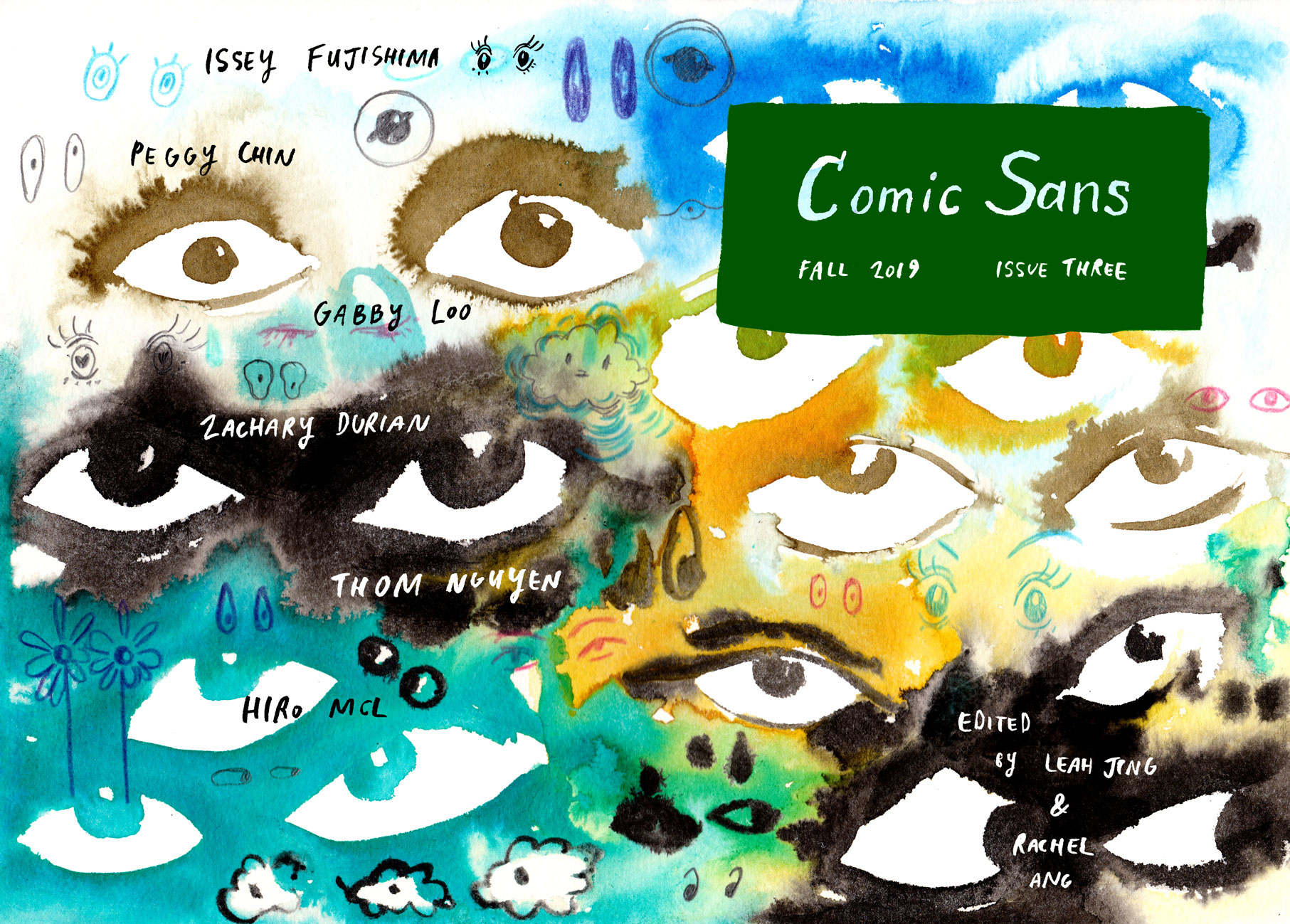 COMIC SANS: Comic Sans is a serialized anthology of outstanding Australian comics, edited by Leah Jing Mcintosh (Liminal Magazine) and Rachel Ang.
