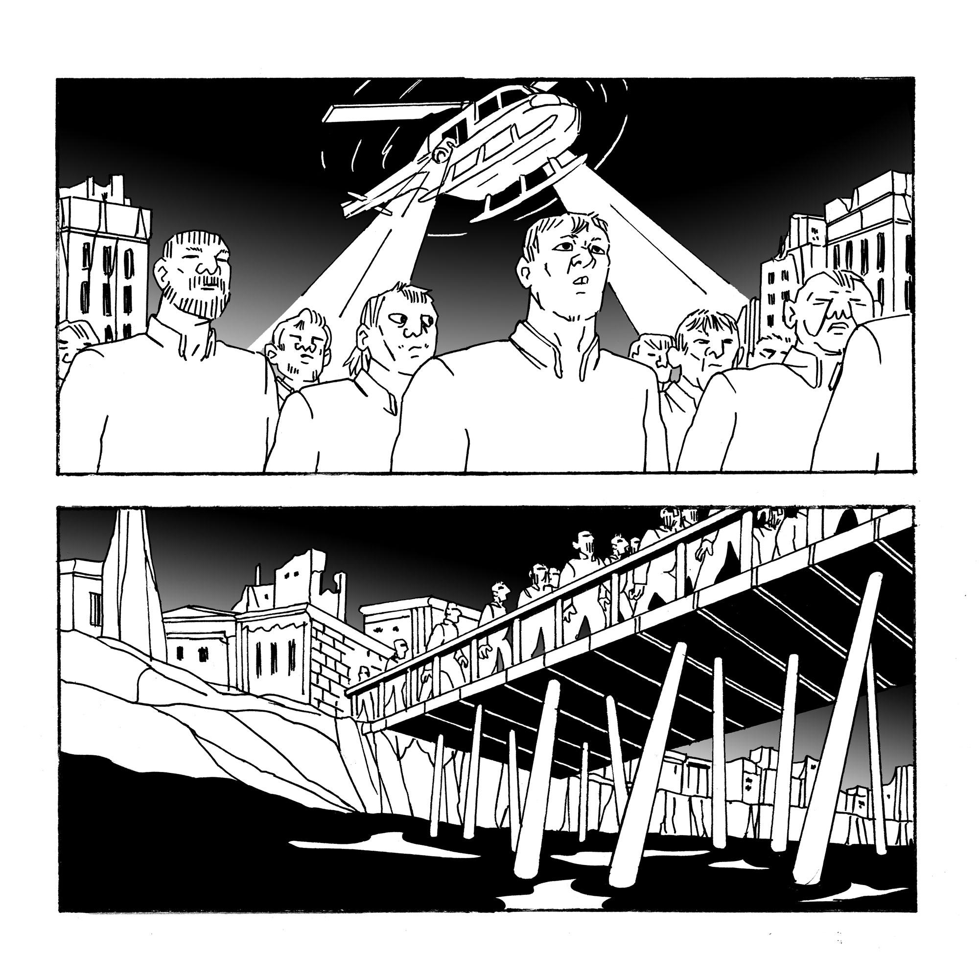CHRIS GOOCH : Chris Gooch is a Melbourne based cartoonist. His first graphic novel,  Bottled , was published in 2017 and his second,  Under-Earth , is currently being serialised in three parts over 2019.