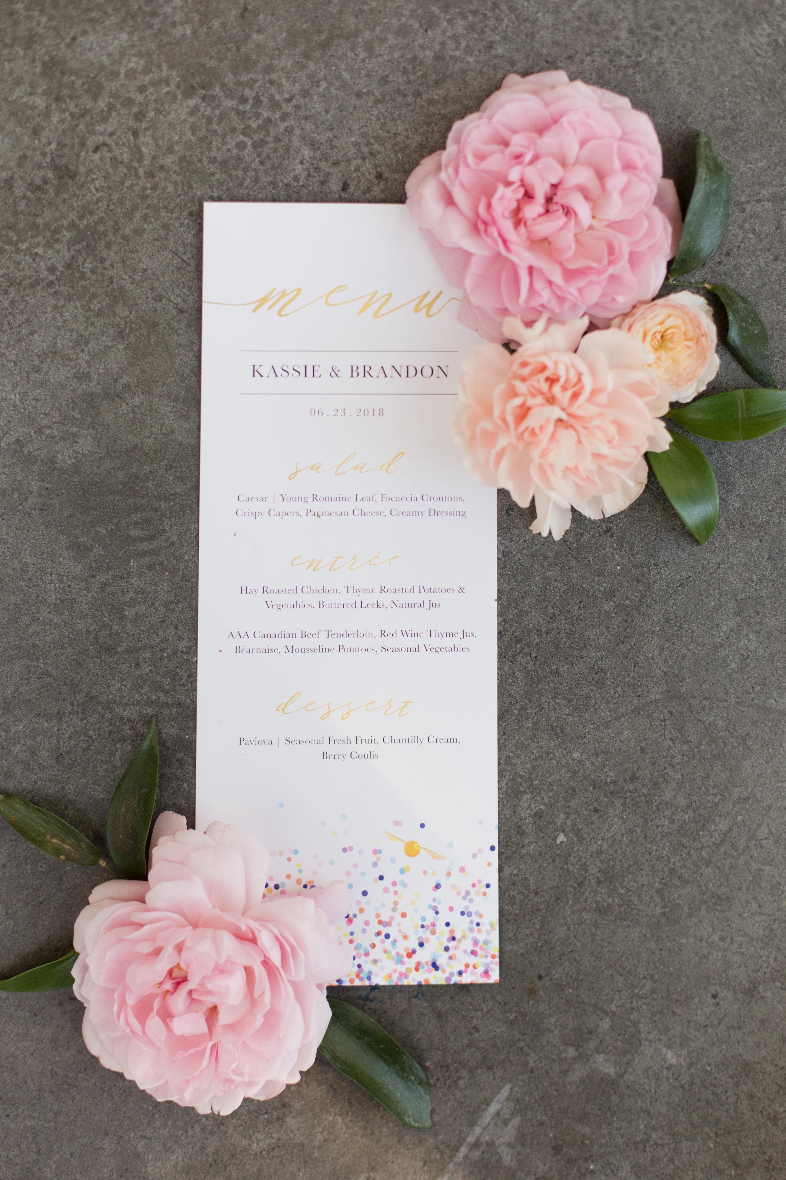 Okanagan Confetti Wedding Menu Stationery.jpg