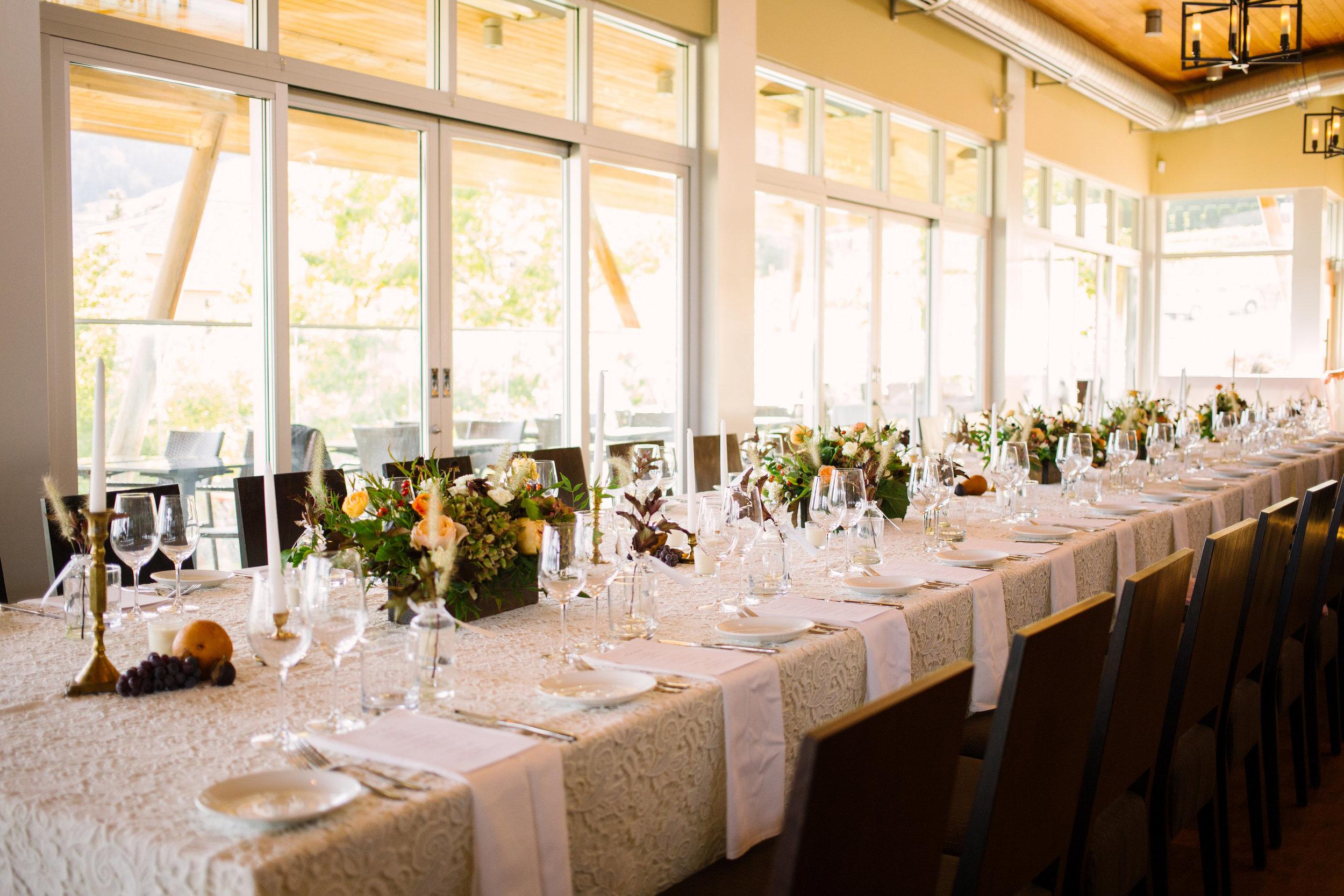 Kelowna Restaurant Wedding Reception .jpg